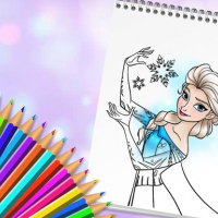 Amazing Princess Coloring Book Online
