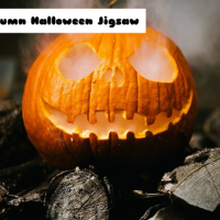 Autumn Halloween Jigsaw
