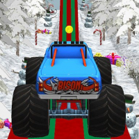 Christmas Monster Lastwagen