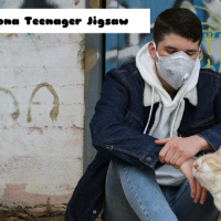 Corona Teenager Jigsaw