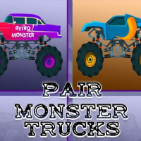 Monster Trucks Pair Online