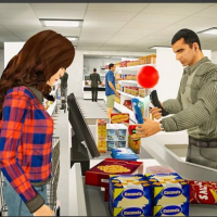 Shopping Mall Girl - Supermarket Shopping Games 3D
