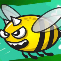 Angry Bee Flappy Adventure