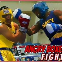 Angry Boxers Fight