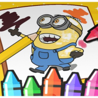 Coloring Minion Online