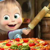 Masha And The Bear Pizzeria Game Online