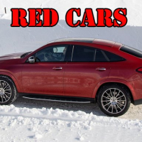 Red GLE Coupe Cars Puzzle Online